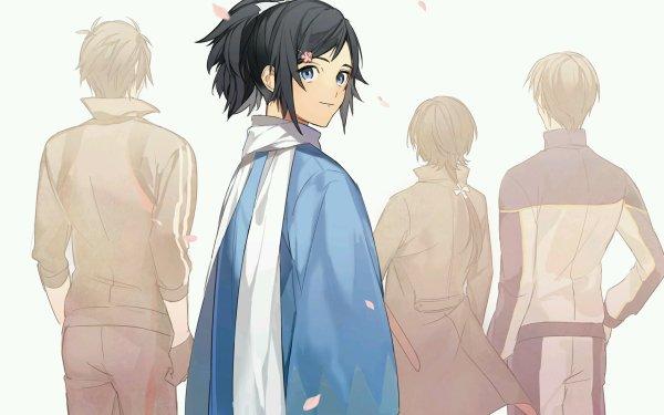 Anime Touken Ranbu Heshikiri Hasebe Kashuu Kiyomitsu Shokudaikiri Mitsutada Yamato no Kami Yasusada HD Wallpaper | Background Image