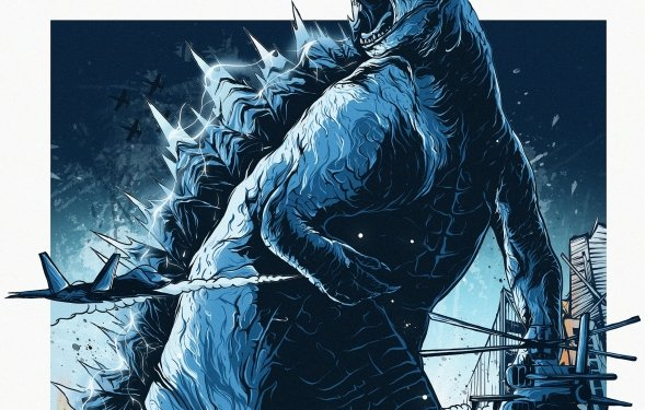 Movie Godzilla vs Kong Godzilla vs. Kong Godzilla HD Wallpaper | Background Image