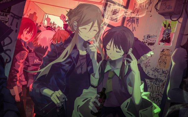 Anime Touhou Yukari Yakumo Reimu Hakurei Raiko Horikawa Mystia Lorelei Kyouko Kasodani Momiji Inubashiri Aya Shameimaru HD Wallpaper | Background Image