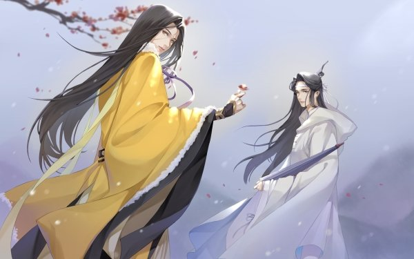 Anime Mo Dao Zu Shi Jin Guangyao Lan Huan Lan Xichen HD Wallpaper   Background Image