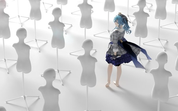 Anime Virtual Youtuber Suisei Hoshimachi Hololive HD Wallpaper   Background Image
