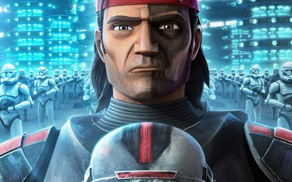 TV Show Star Wars: The Bad Batch Star Wars Hunter HD Wallpaper   Background Image