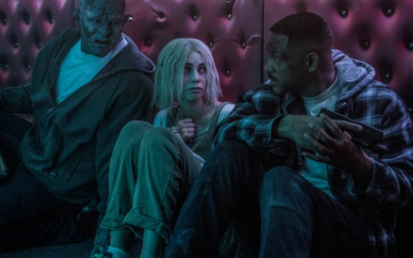 Movie Bright Will Smith Joel Edgerton Lucy Fry HD Wallpaper | Background Image