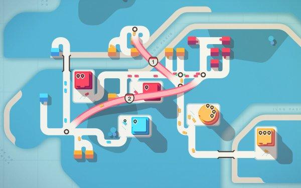 Video Game Mini Motorways HD Wallpaper   Background Image