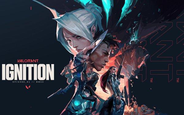 Video Game Valorant Jett Phoenix Brimstone Cypher Reyna Sage HD Wallpaper   Background Image