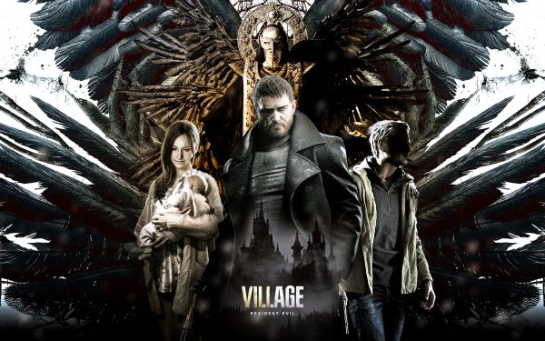 Video Game Resident Evil Village Resident Evil Chris Redfield Ethan Winters Mia Winters Mother Miranda Rosemary Winters HD Wallpaper | Background Image