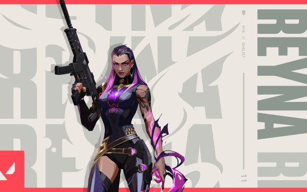 Video Game Valorant Reyna HD Wallpaper   Background Image