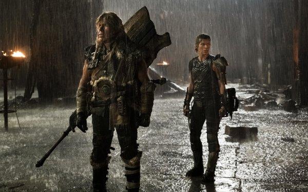 Movie Monster Hunter Milla Jovovich Artemis Ron Perlman HD Wallpaper | Background Image