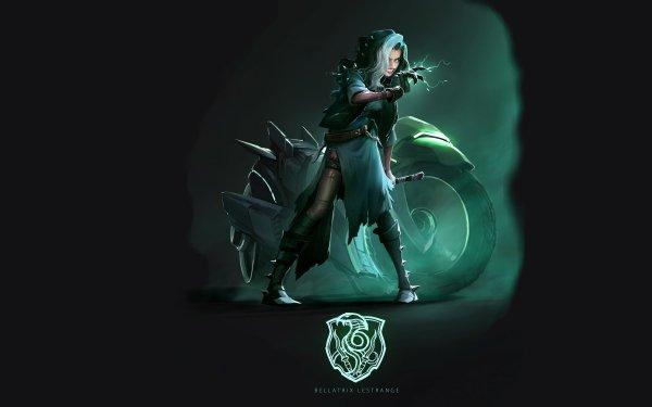 Fantasy Women Warrior Bellatrix Lestrange HD Wallpaper   Background Image