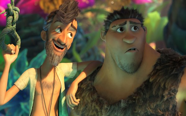 Movie The Croods: A New Age Grug Phil Betterman HD Wallpaper | Background Image