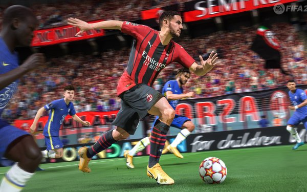 Video Game FIFA 22 HD Wallpaper | Background Image
