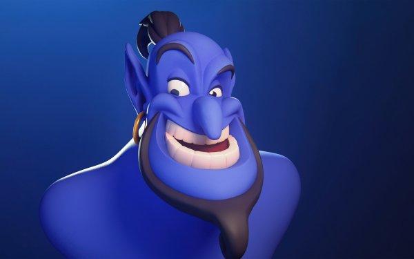 Movie Aladdin (1992) Aladdin Genie HD Wallpaper   Background Image