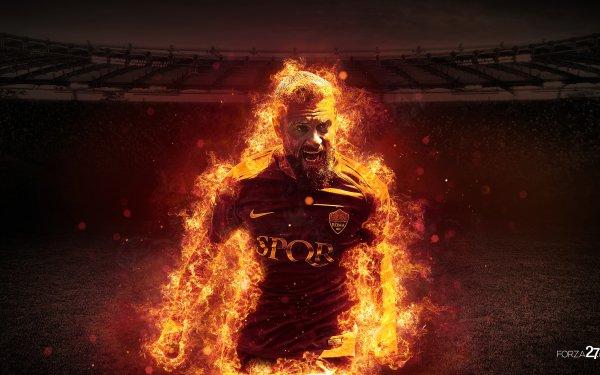 Sports Daniele De Rossi Soccer Player A.S. Roma HD Wallpaper   Background Image
