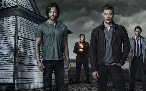 TV Show Supernatural Dean Winchester Jared Padalecki Jensen Ackles Misha Collins Sam Winchester Castiel HD Wallpaper | Background Image