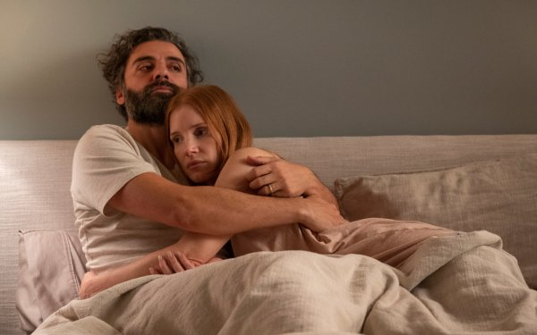 TV Show Scenes from a Marriage Oscar Isaac Jessica Chastain HD Wallpaper | Background Image