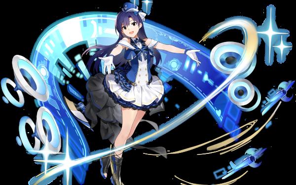 Anime The iDOLM@STER THE iDOLM@STER Chihaya Kisaragi Azur Lane HD Wallpaper | Background Image