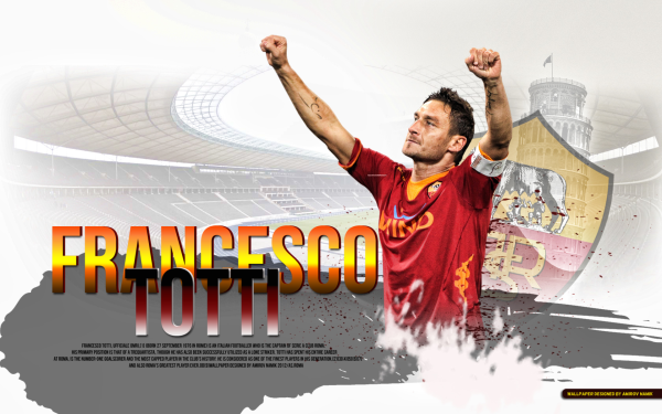 Sports Francesco Totti Soccer Player A.S. Roma HD Wallpaper   Background Image