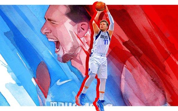 Video Game NBA 2K22 NBA Basketball Luka Dončić NBA 2K HD Wallpaper | Background Image