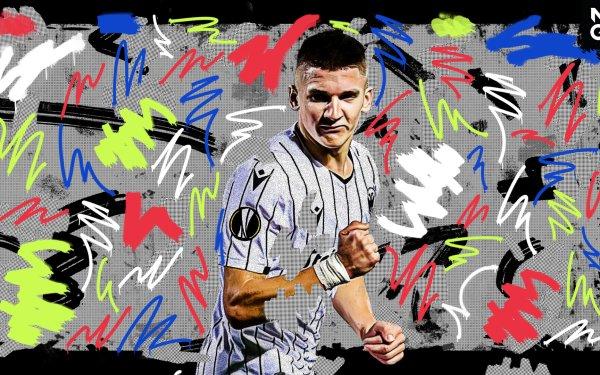 Sports Christos Tzolis Greek Soccer HD Wallpaper | Background Image