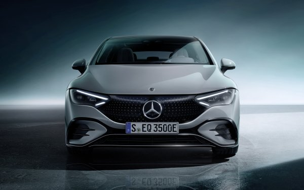 Vehicles Mercedes-Benz E 350 Mercedes-Benz Mercedes-Benz EQE 350 Luxury Car Electric Car HD Wallpaper | Background Image