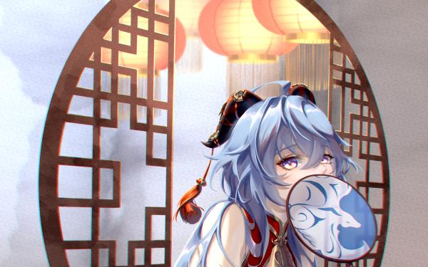 Video Game Genshin Impact Ganyu HD Wallpaper   Background Image