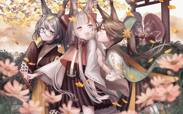 Anime Azur Lane Hatakaze Kamikaze Matsukaze Inazuma Ikazuchi HD Wallpaper | Background Image