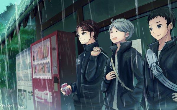 Anime Haikyu!! Asahi Azumane Daichi Sawamura Koushi Sugawara HD Wallpaper | Background Image