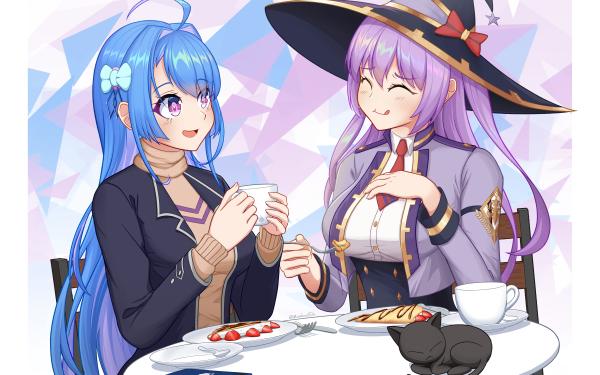 Anime Crossover King's raid Azur Lane Helena HD Wallpaper | Background Image
