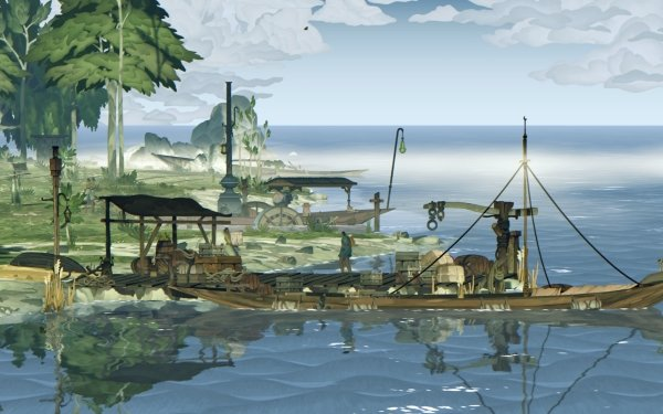 Video Game Book of Travels HD Wallpaper   Background Image