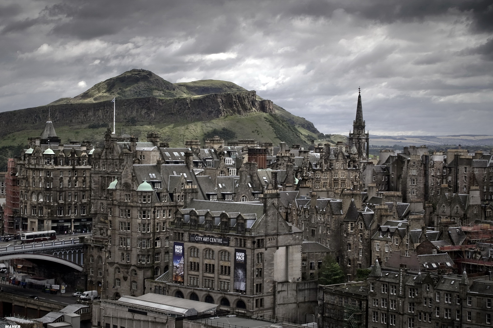 Scotland, Edinburgh Full HD Wallpaper and Background Image
