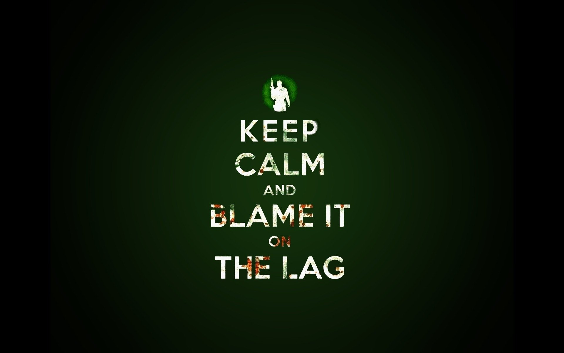 Humor - Computer  Keep Calm Wallpaper