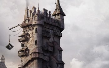 Fantasy - Building Wallpapers and Backgrounds ID : 299874