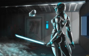 Sci Fi - Women Warrior Wallpapers and Backgrounds ID : 299878