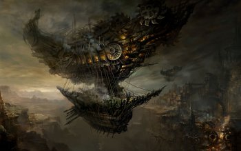 Science-Fiction - Steampunk Wallpapers and Backgrounds ID : 299926