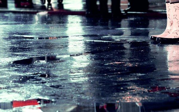 Photographie Pluie Eau Humeur Style Réflection Les gens Fond d'écran HD   Image