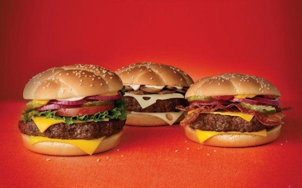 Food Burger Hamburger Cheese HD Wallpaper | Background Image
