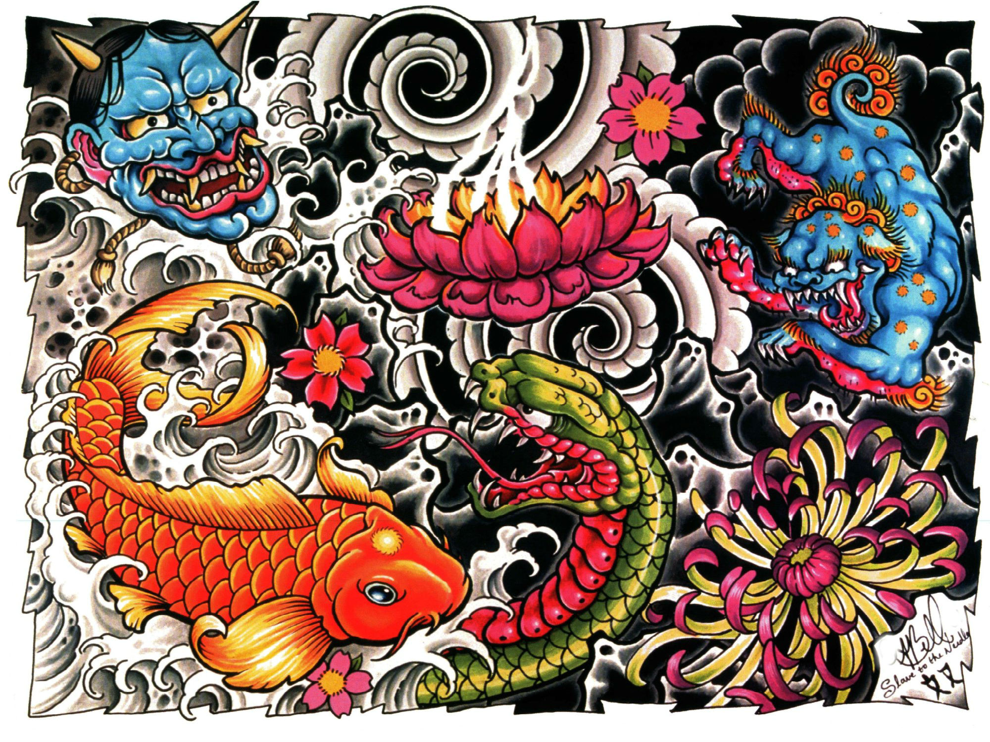 55 Tattoo HD Wallpapers | Background Images - Wallpaper Abyss