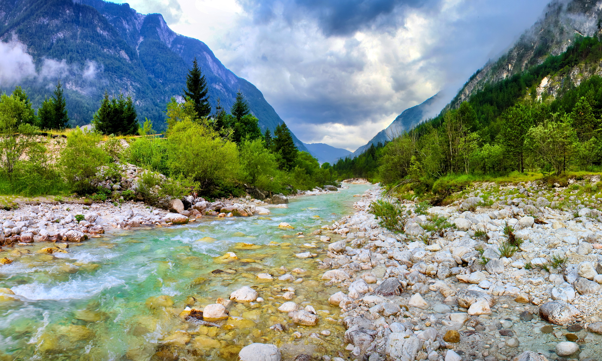 river full hd wallpaper and background 2000x1200 id 301818