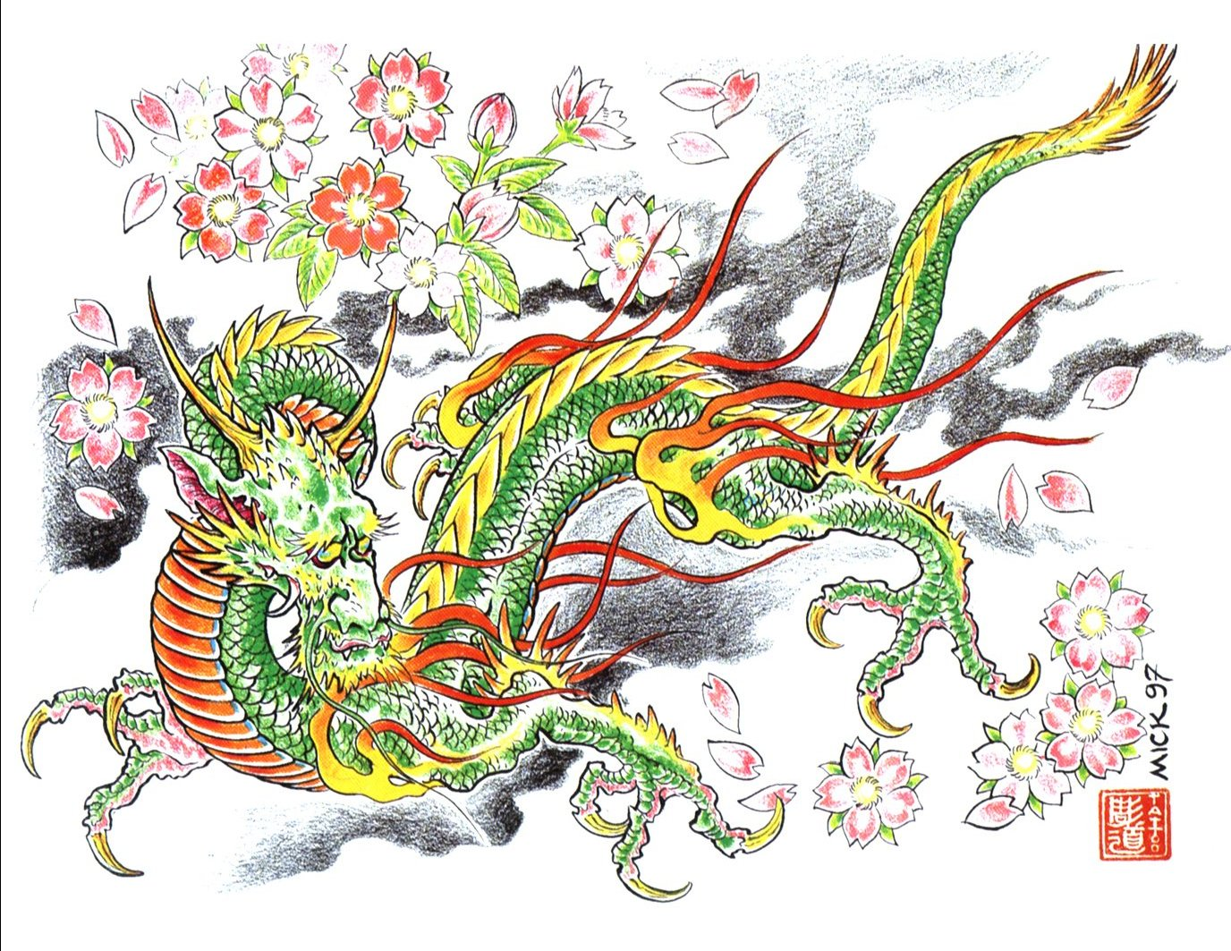 Dragon Wallpaper And Background Image 1376x1063 Id