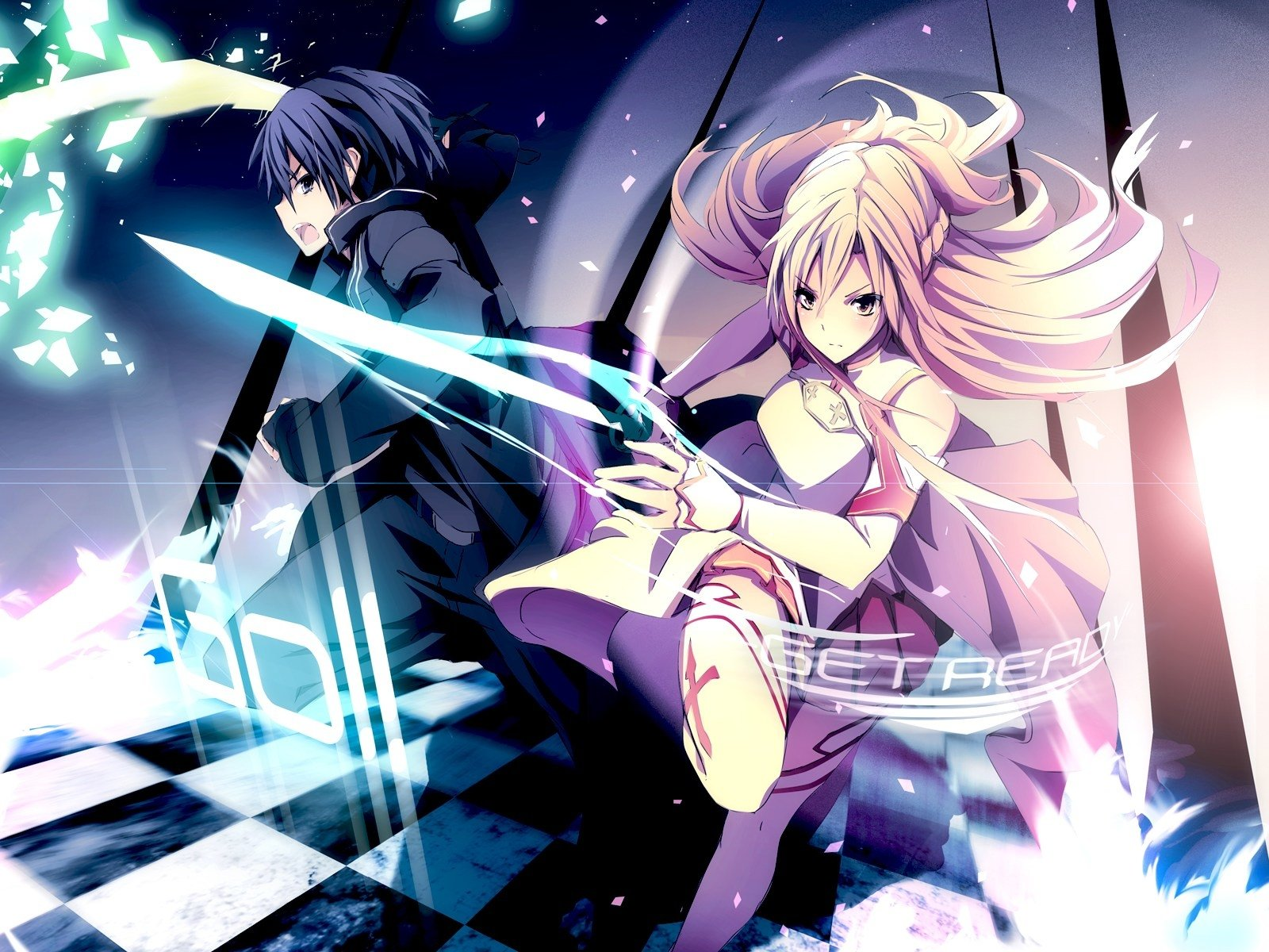 Foto Kirito Dan Asuna 2460 sword art online hd wallpapers | background images