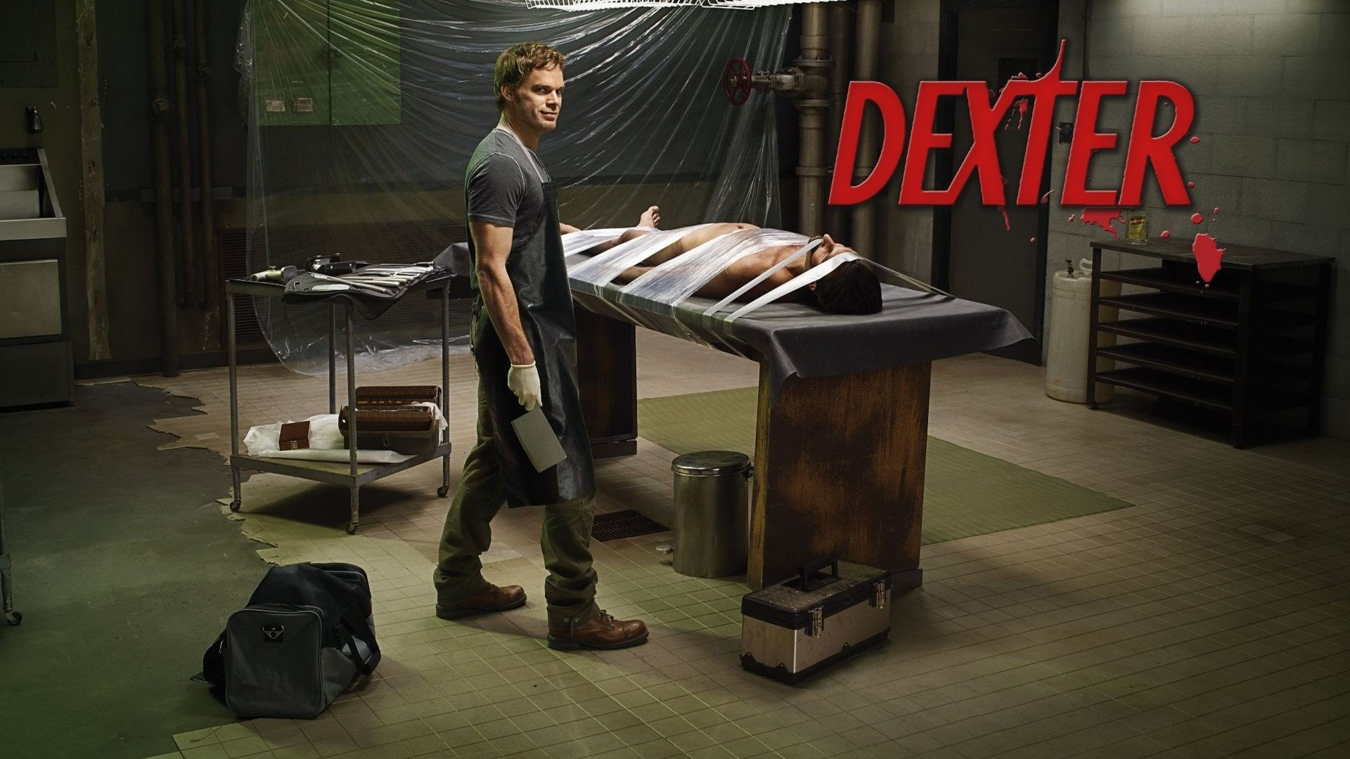 TV-program - Dexter  Michael C. Hall Dexter (TV Show) Dexter Morgan Bakgrund