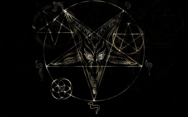 Dark Occult Pentagram HD Wallpaper | Background Image