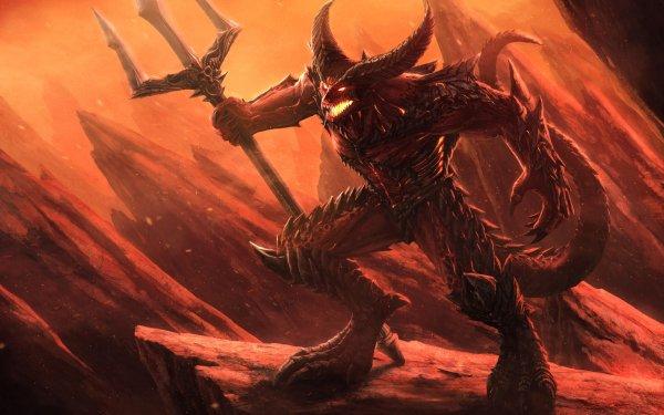 Oscuro Demonio Oculto Hell Fondo de pantalla HD | Fondo de Escritorio