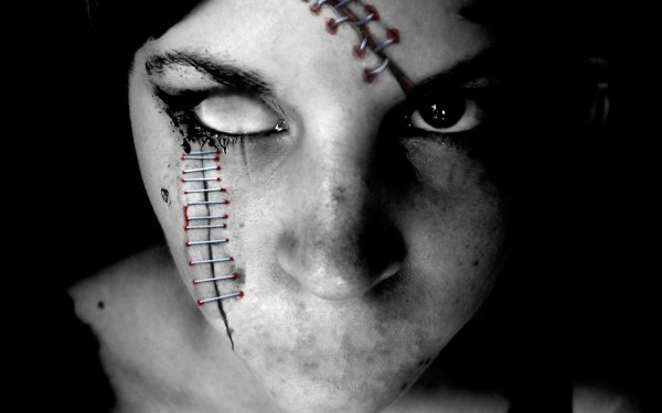 Dark Gothic Horror Scary Evil Creepy Eye HD Wallpaper | Background Image