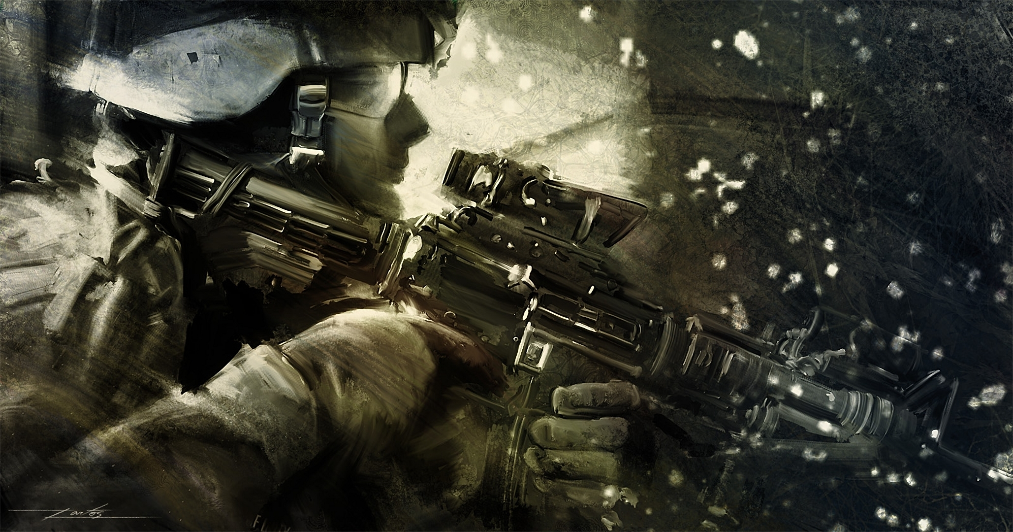 Soldier Full HD Wallpaper and Background   2058x1080   ID ...
