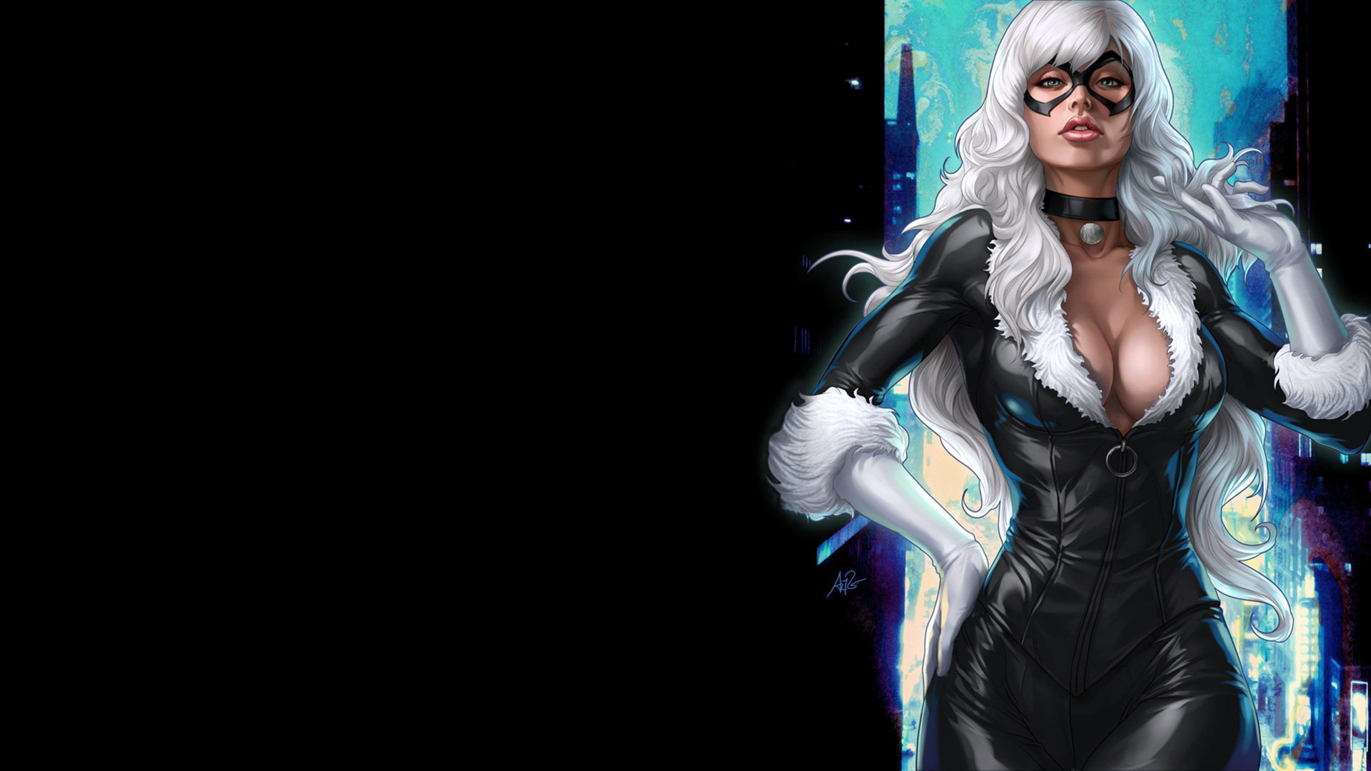 Black Cat Full HD Wallpaper and Background Image ...