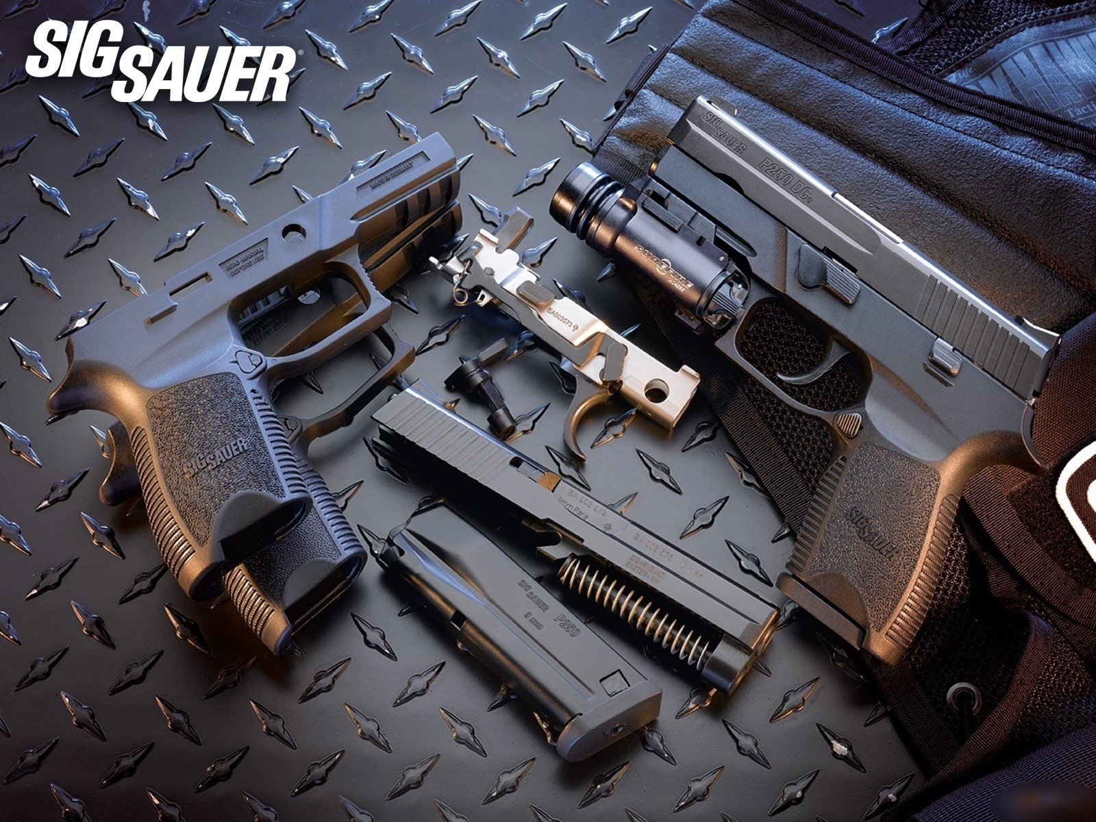Sig Sauer Pistol Wallpaper And Background Image