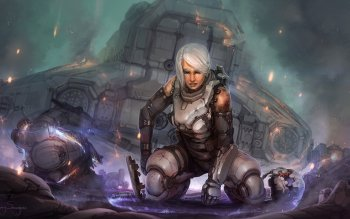 Science-Fiction - Cyborg Wallpapers and Backgrounds ID : 302668