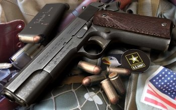 Weapons - Colt 1911 Wallpapers and Backgrounds ID : 302894