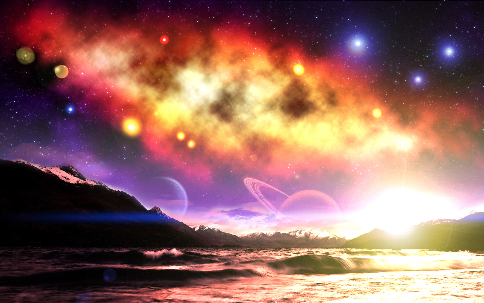 trippy galaxy wallpaper - photo #11
